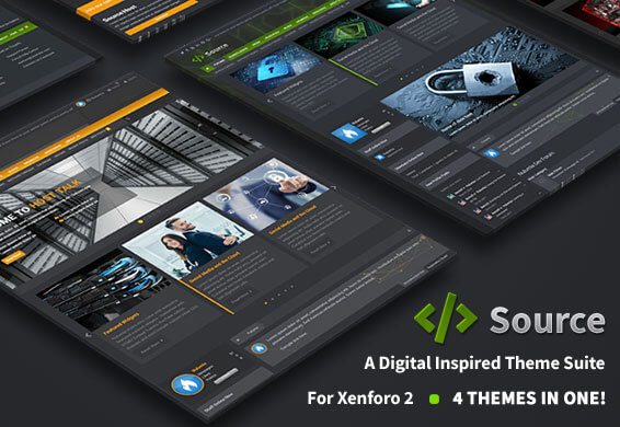 Premium Xenforo 2 styles and forum themes