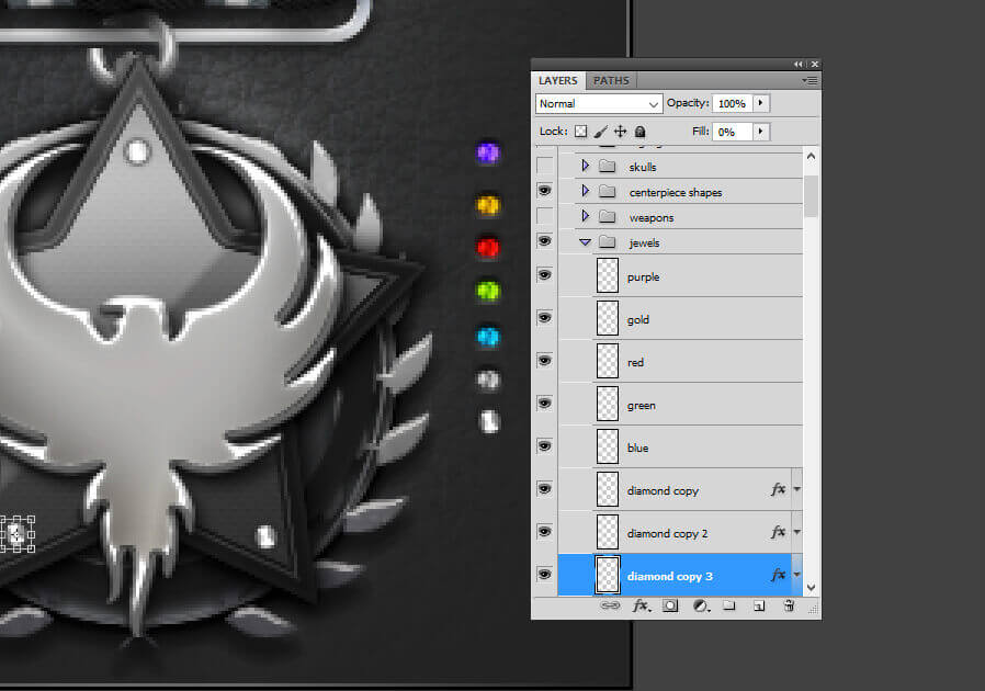 Gaming Clan Awards & Ranks Photoshop PSD Kits